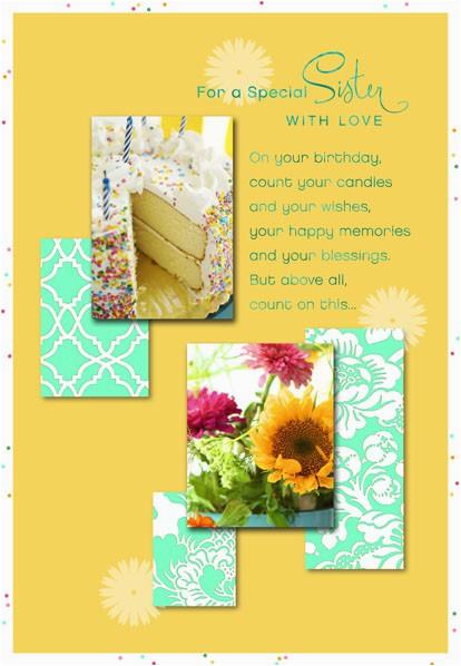on your birthday sister birthday card 599fbd1312