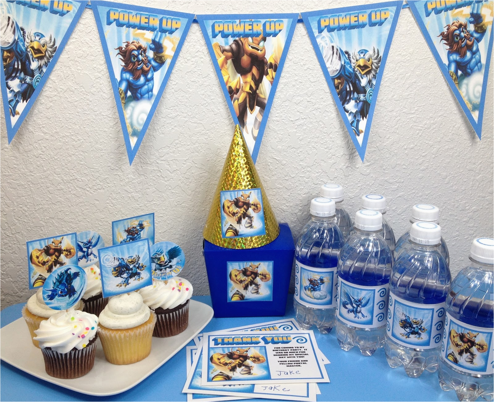 skylanders party diy by elements