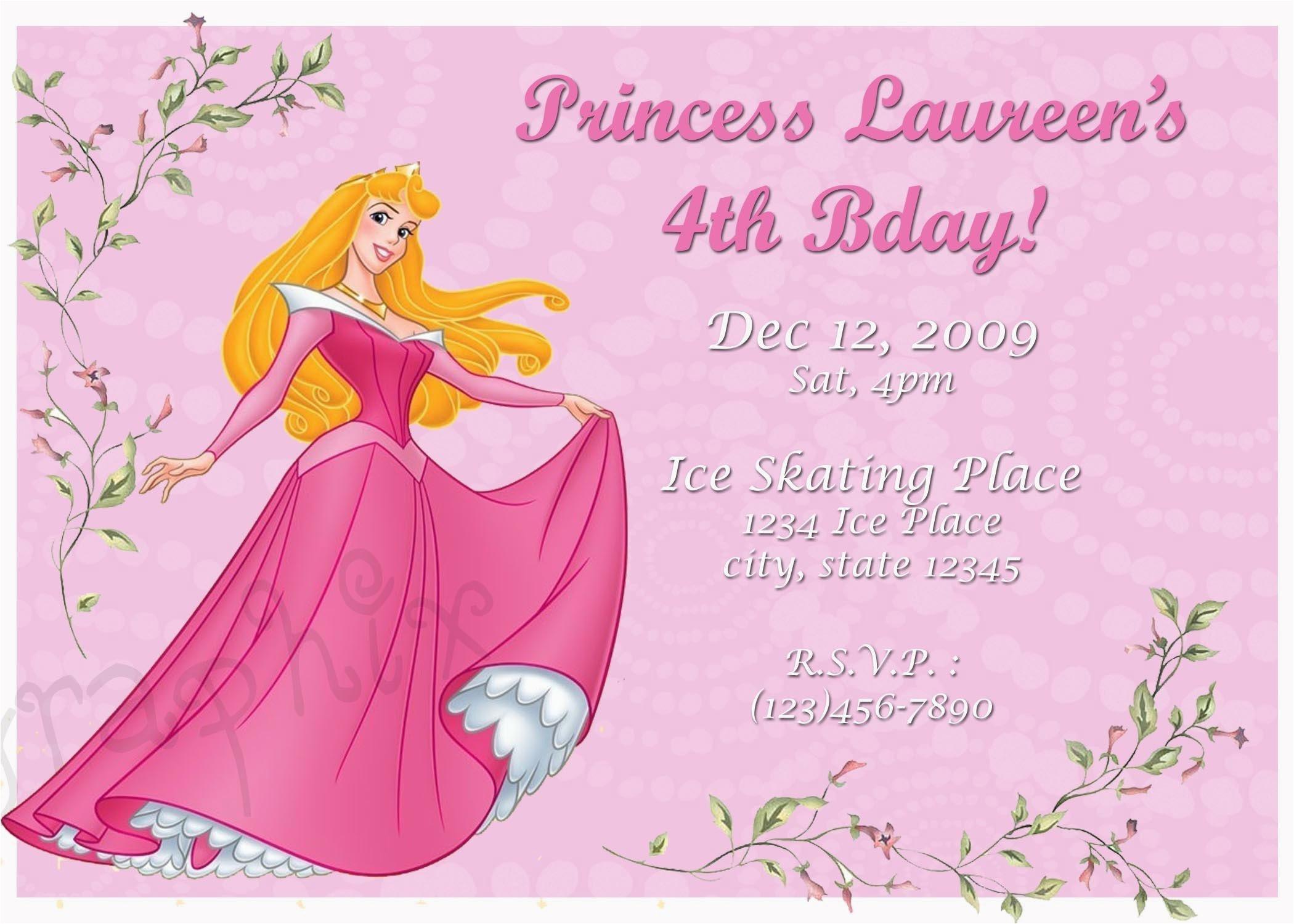 sleeping beauty princess aurora birthday