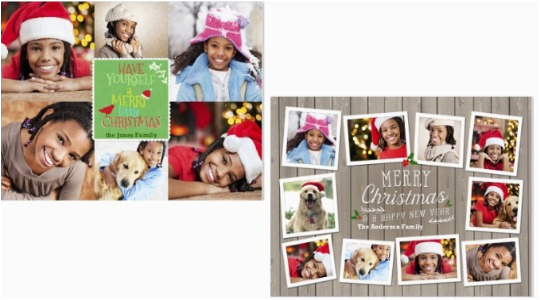 free 7 quot x 5 quot personalised photo christmas card snapfish