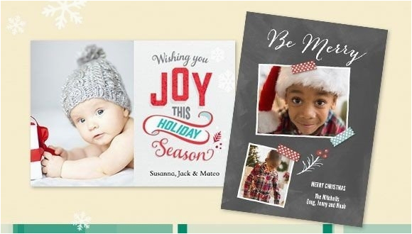 snapfish christmas cards boise