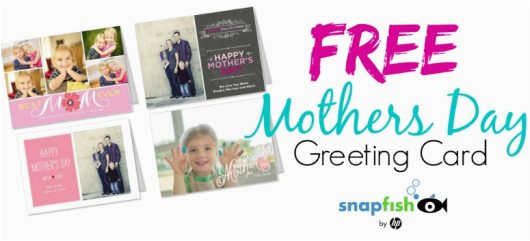snapfish free mothers day greeting card family friendly