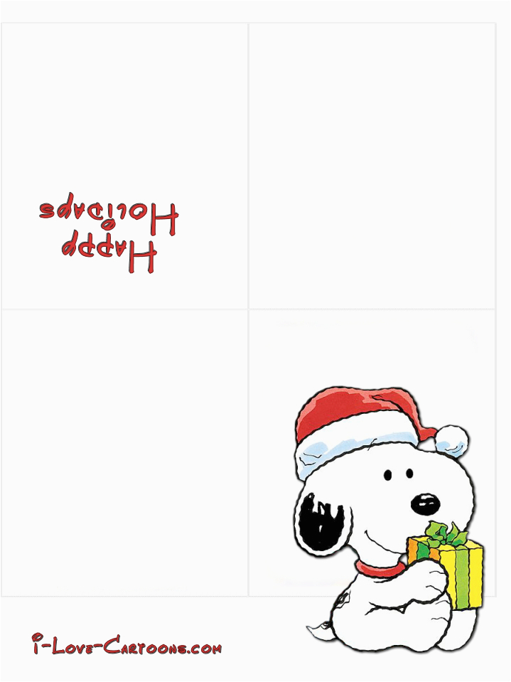 4 best images of printable happy holiday cards happy