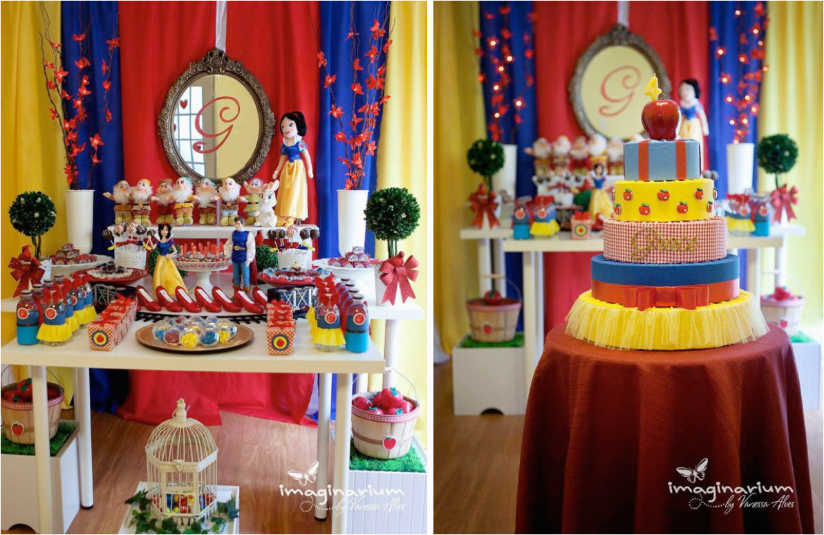 Snow White 4th Birthday Party 2