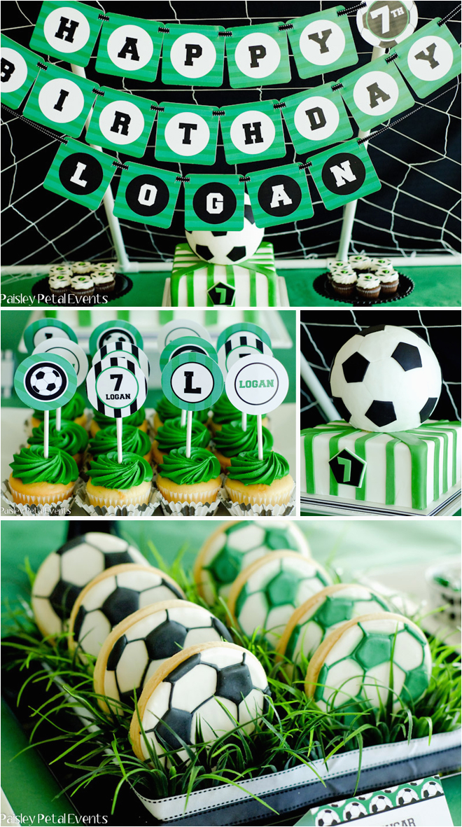 super soccer birthday party