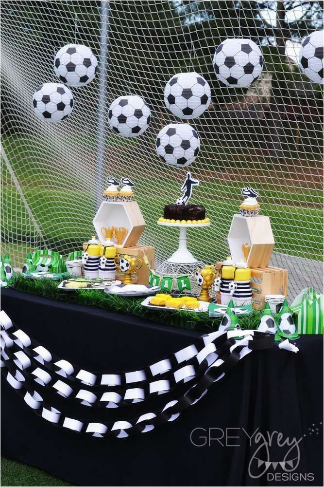 soccer birthday parties