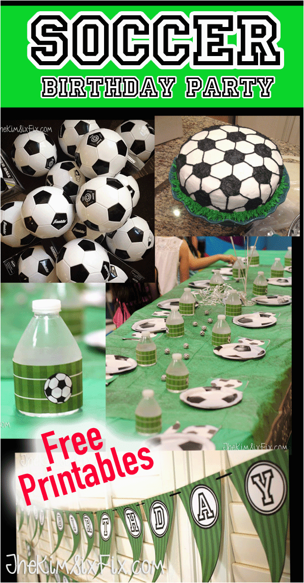soccer birthday party and free