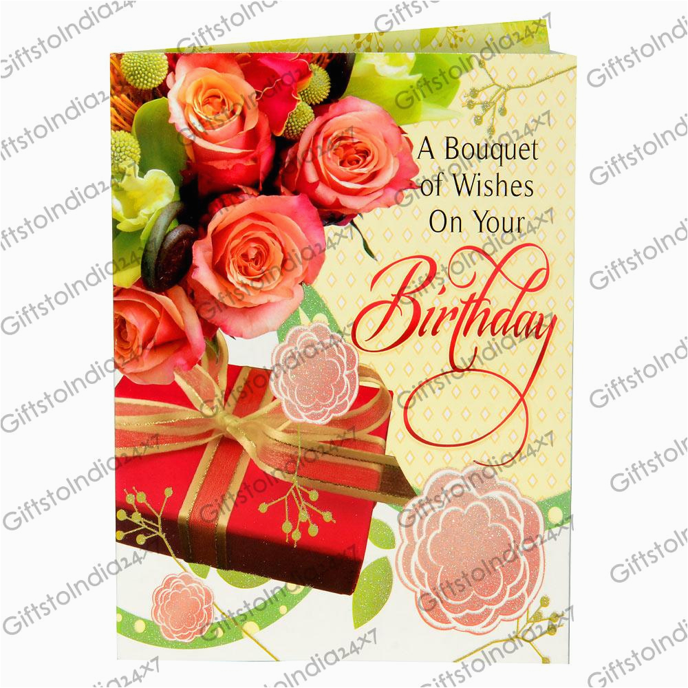Sophisticated Birthday Cards Send Greetings To India Gifts