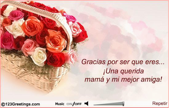 Spanish Birthday Cards For Mom Happy Quotes My In Image