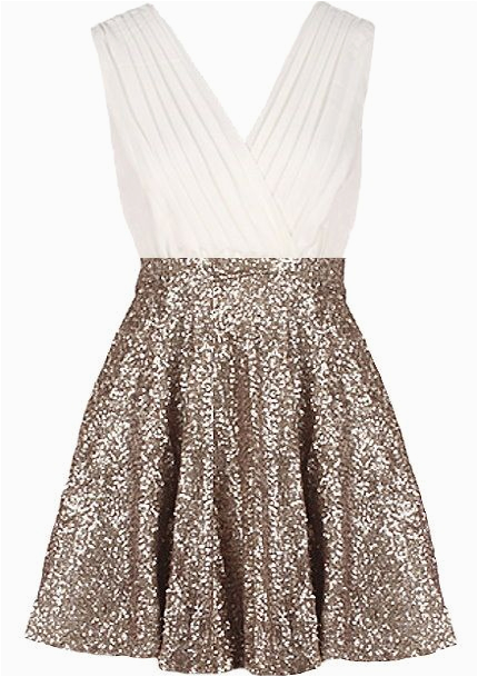 glitter empress dress gold sequin skirt bodice and ash