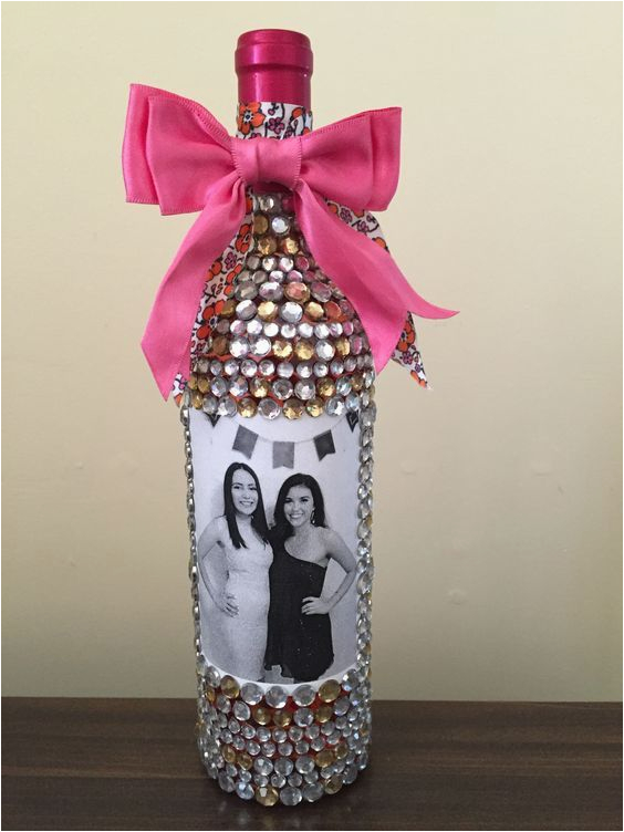 Special 21st Birthday Gifts For Her Blingy Bubbly Diy Gift Ideas Sisters