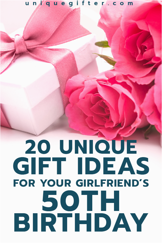 Special 50th Birthday Gifts For Her Gift Ideas Your Girlfriend 39 S Things