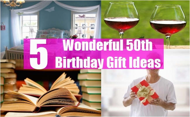 Special 50th Birthday Gifts For Her Wonderful Gift Ideas