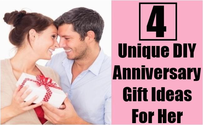 4 unique diy anniversary gift ideas for her bash corner