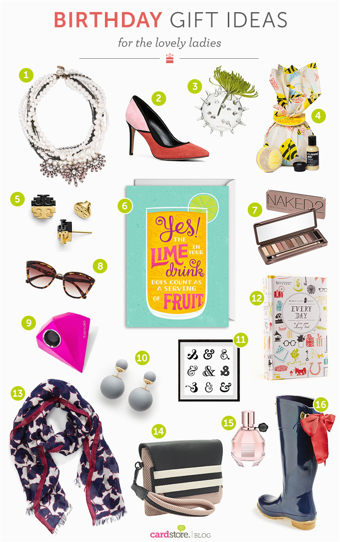 happy birthday girl gift ideas for her cardstore blog
