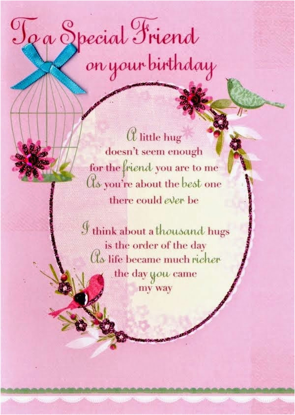 happy birthday to special friend