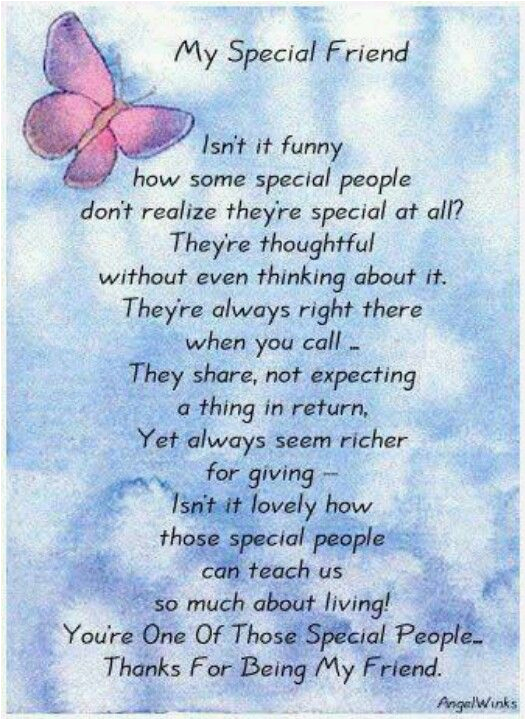 Special Friend Birthday Card Verses Verse For A Greetings Pinterest