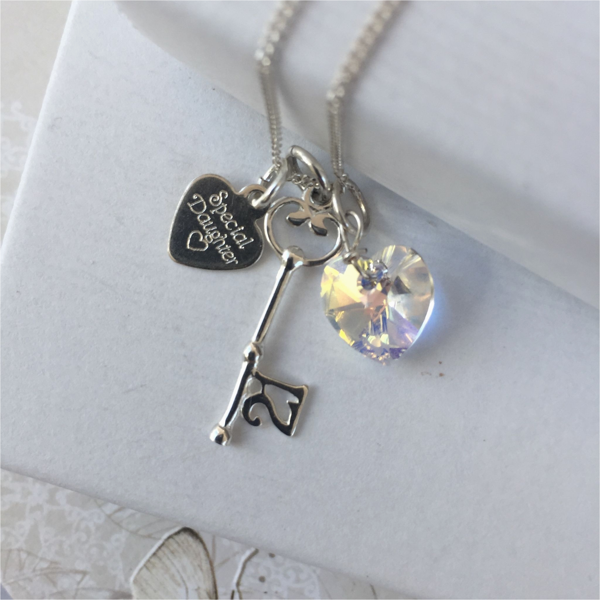 special 21st birthday gift necklace