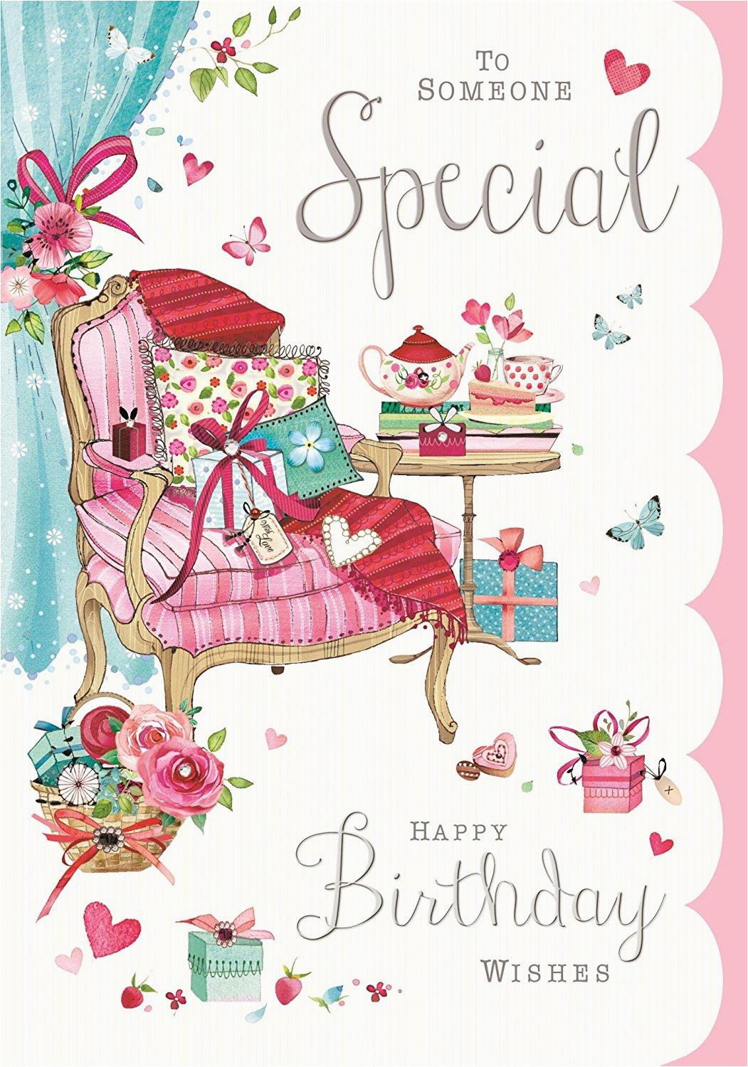 Specialized Birthday Cards To Someone Special Happy Wishes Card