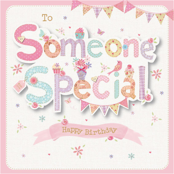 to someone special birthday card 3011706