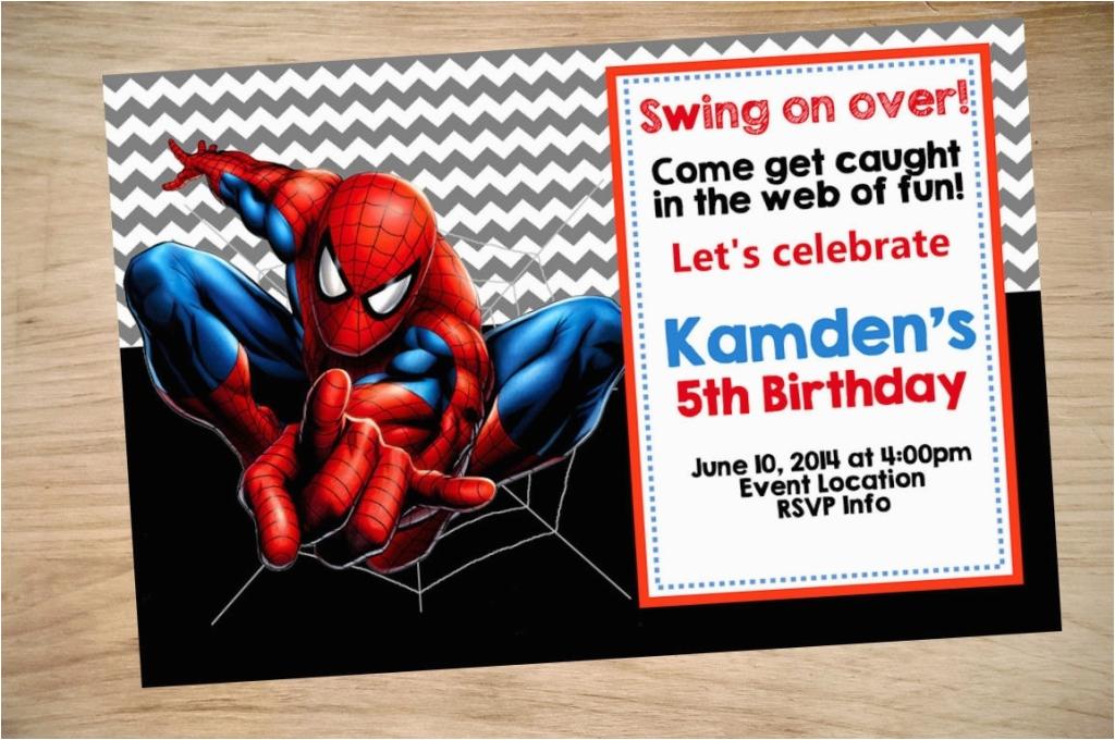 spiderman birthday card sayings