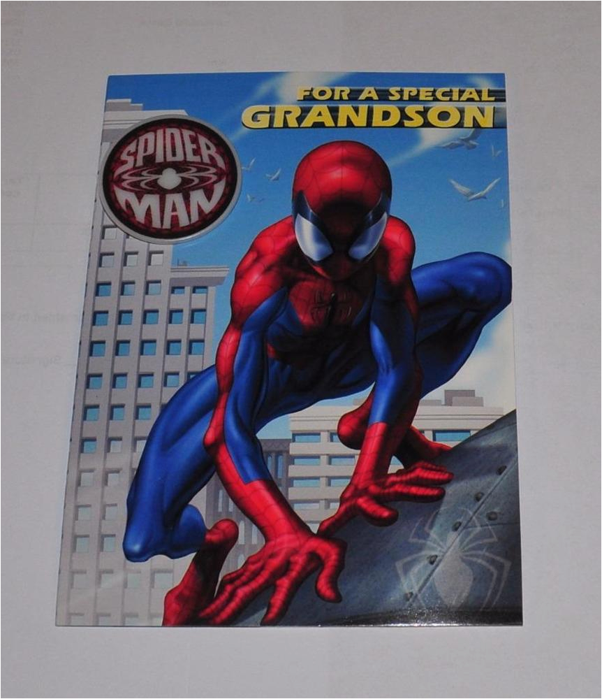 Spiderman Birthday Card Sayings Spiderman Marvel For A Special