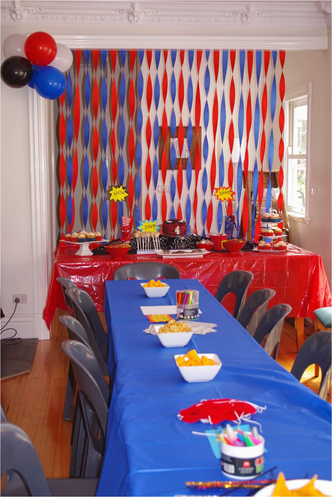 spider man party on budget