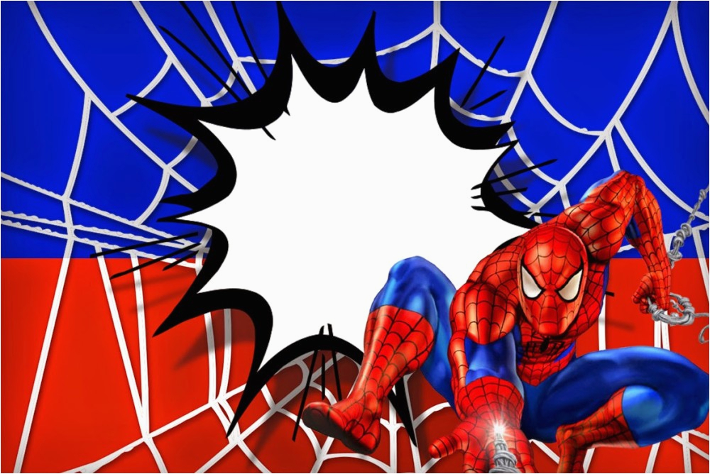 Spiderman Birthday Invites Free Printable Invitation Templates