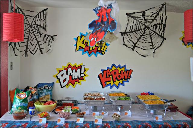 Spiderman Birthday Party Decorating Ideas 15 Amazing Spiderman Birthday Party Ideas for Take Away
