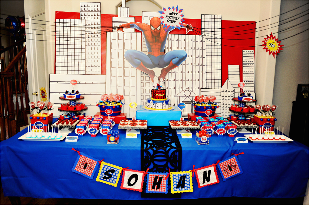 spiderman birthday party part 1 2 as
