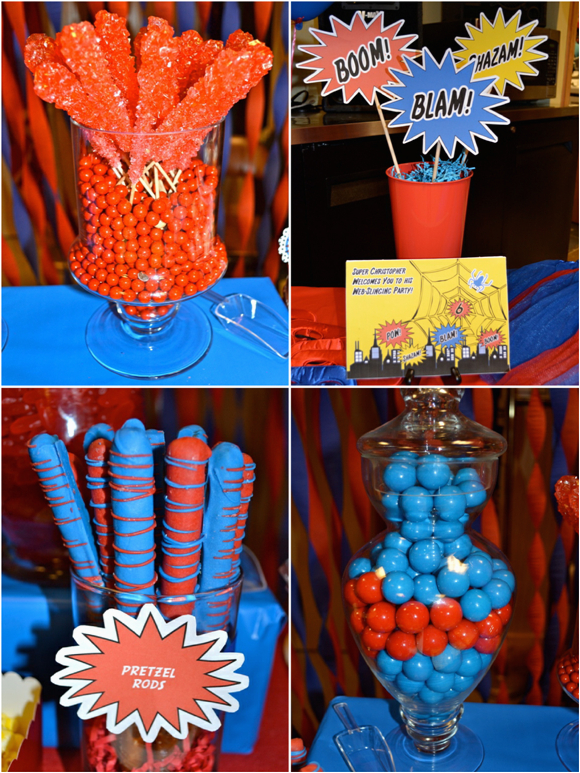 an amazing spiderman inspired birthday