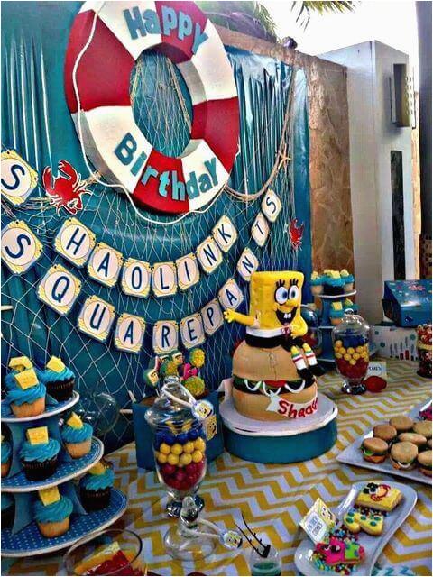 19 spongebob party ideas