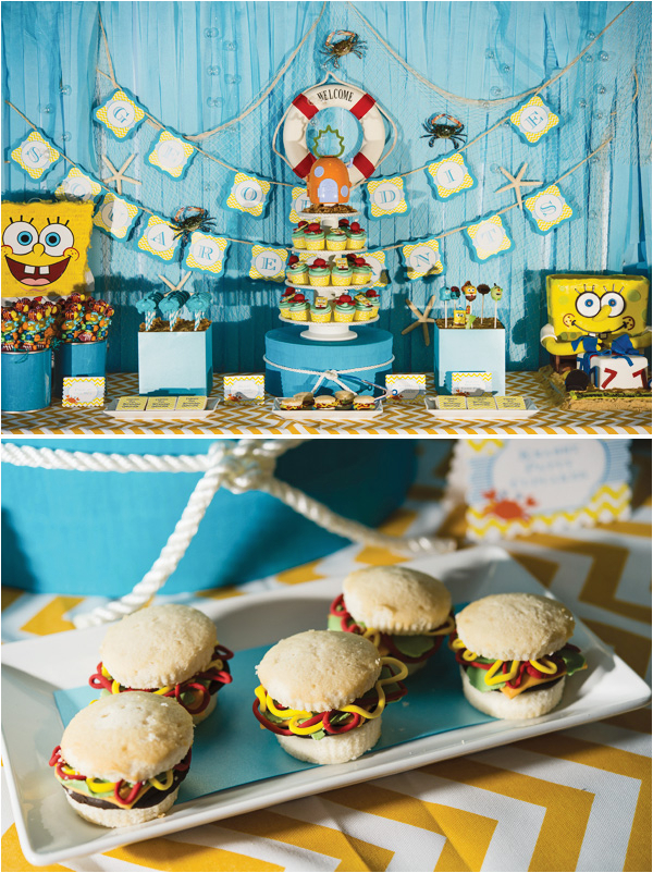 hostess with the mostess feature spongebob party