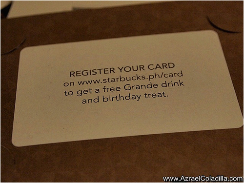 tips and info starbucks reward card is here in the