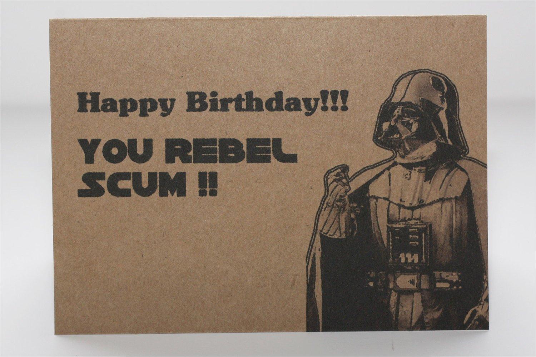 Starwars Birthday Card Birthday Star Wars Quotes Quotesgram