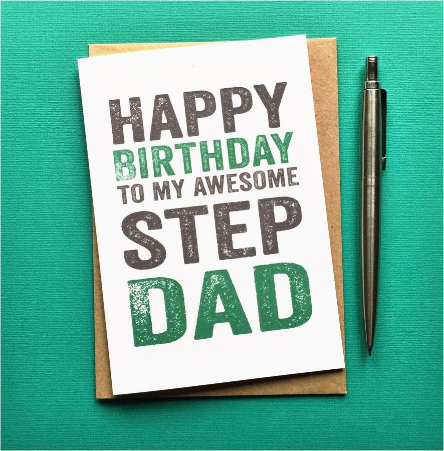 birthday wishes for step father