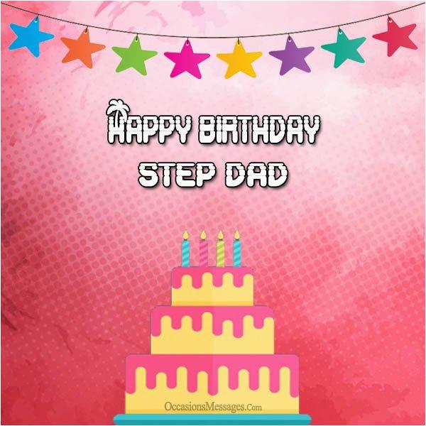 birthday stepdad wishes stepfather messages