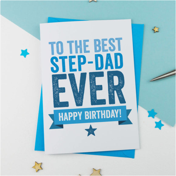 happy birthday card for step dad