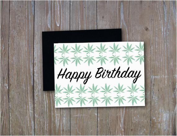 happy birthday weed leaf stoner birthday sarcastic funny