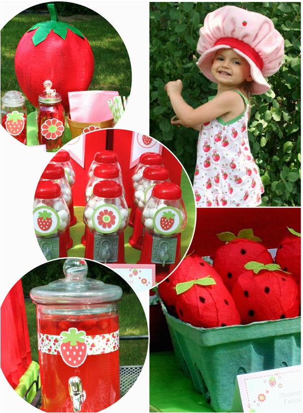 strawberry shortcake birthday party 3