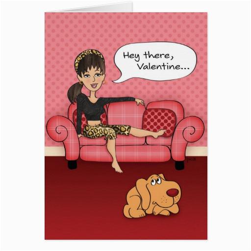 funny suggestive valentines day card zazzle