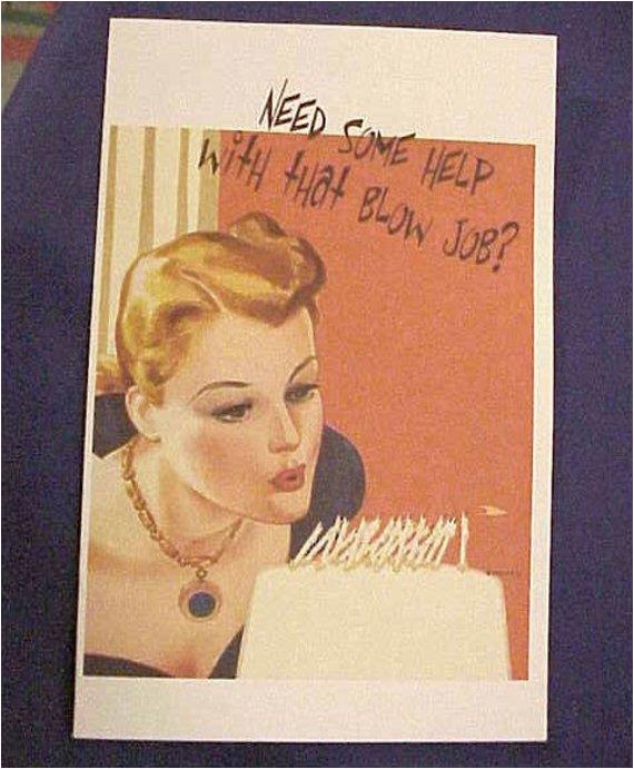 items similar to suggestive birthday greeting card need