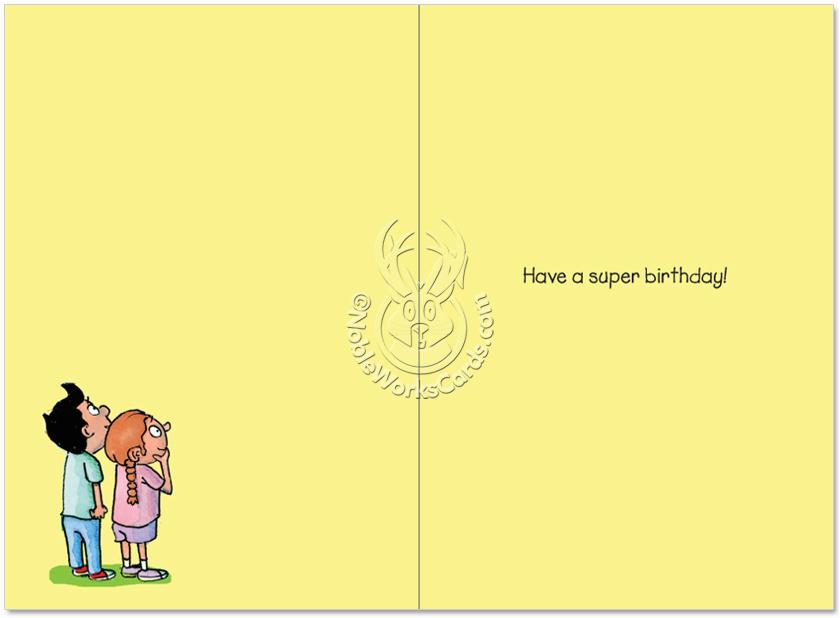 super dad cartoons birthday greeting card reynolds
