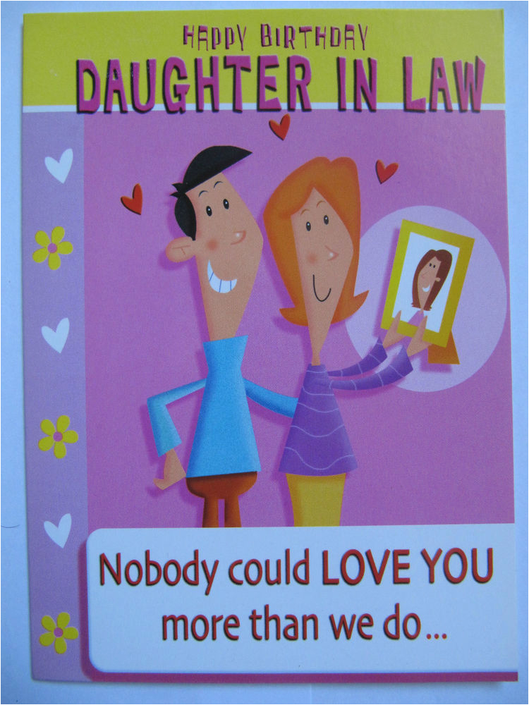 Super Funny Birthday Cards Nobody Could Love You More Daughter In Law