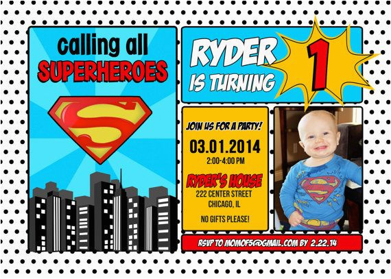 10 images about superman invitations on pinterest photo