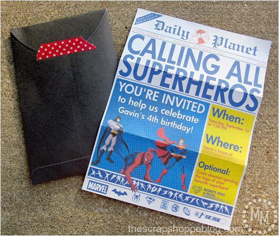 superhero newspaper custom printable