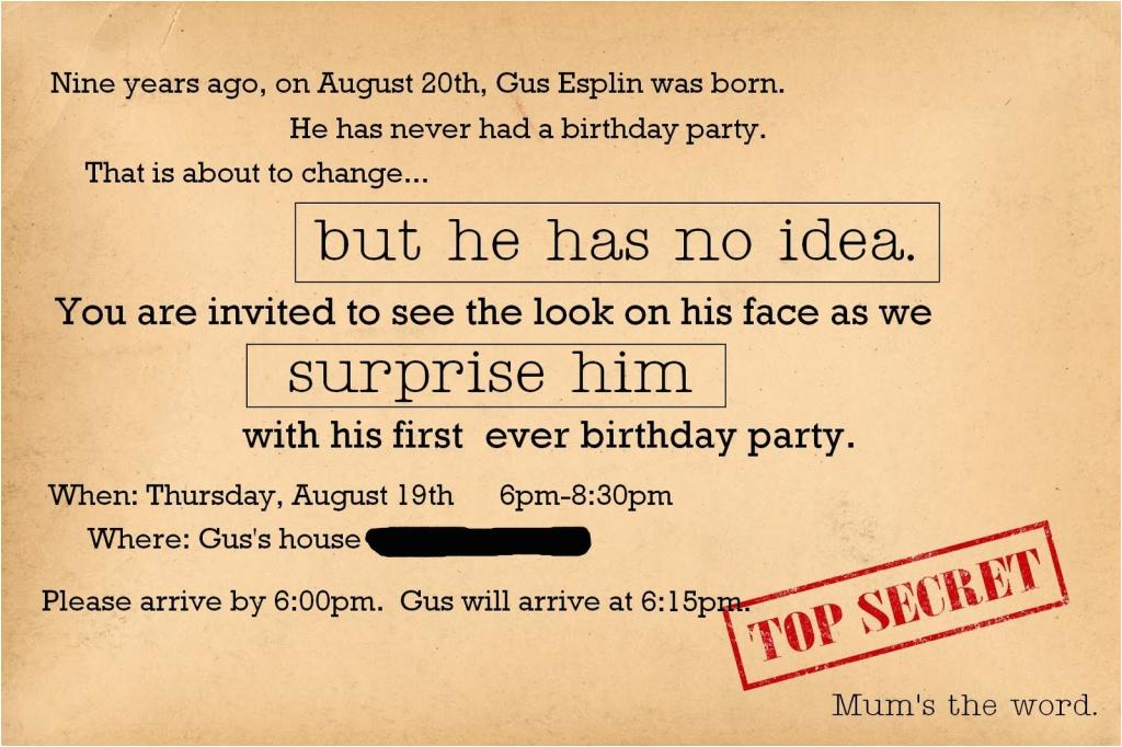 Surprise 30th Birthday Invitations For Men Free Invitation