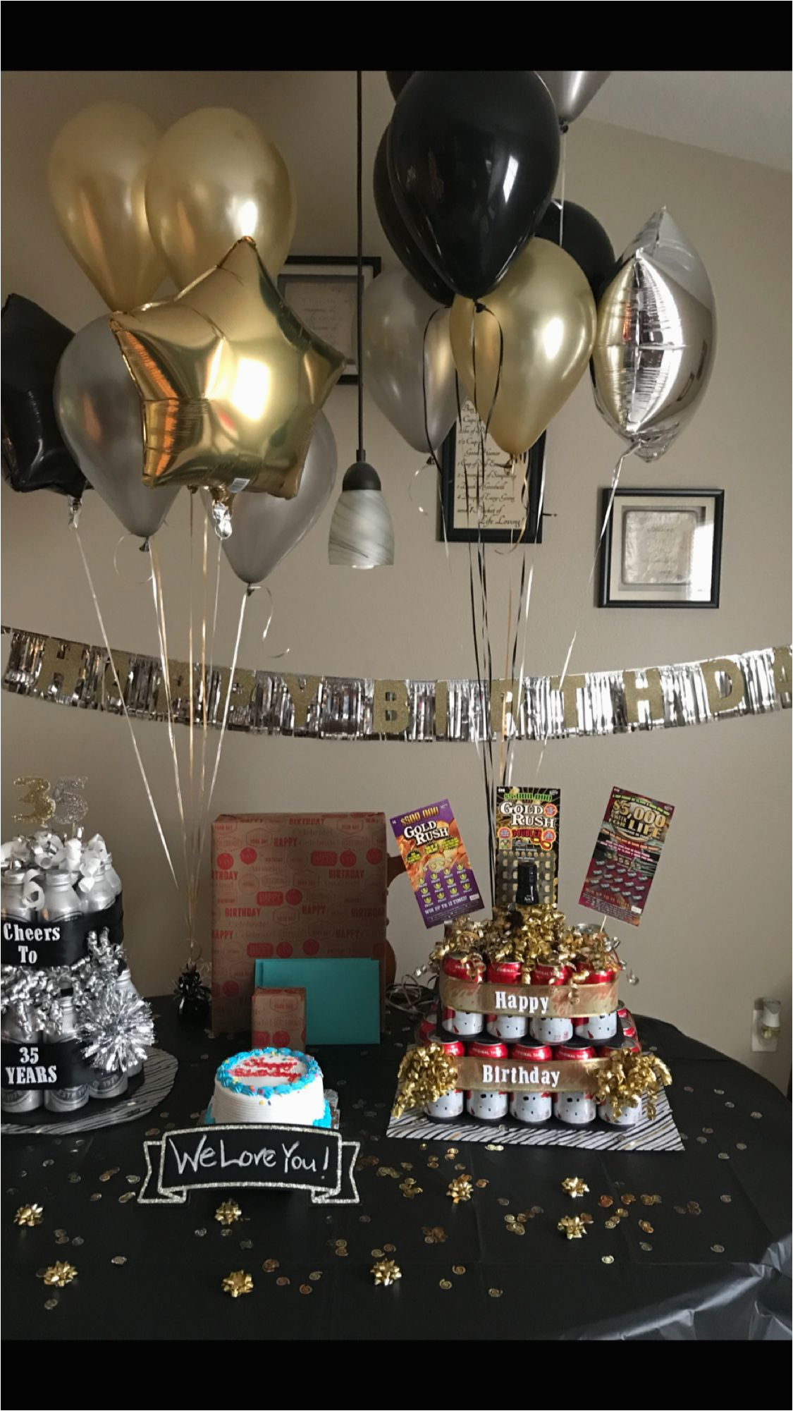 Surprise 40th Birthday Ideas For Husband Gift Pinterest