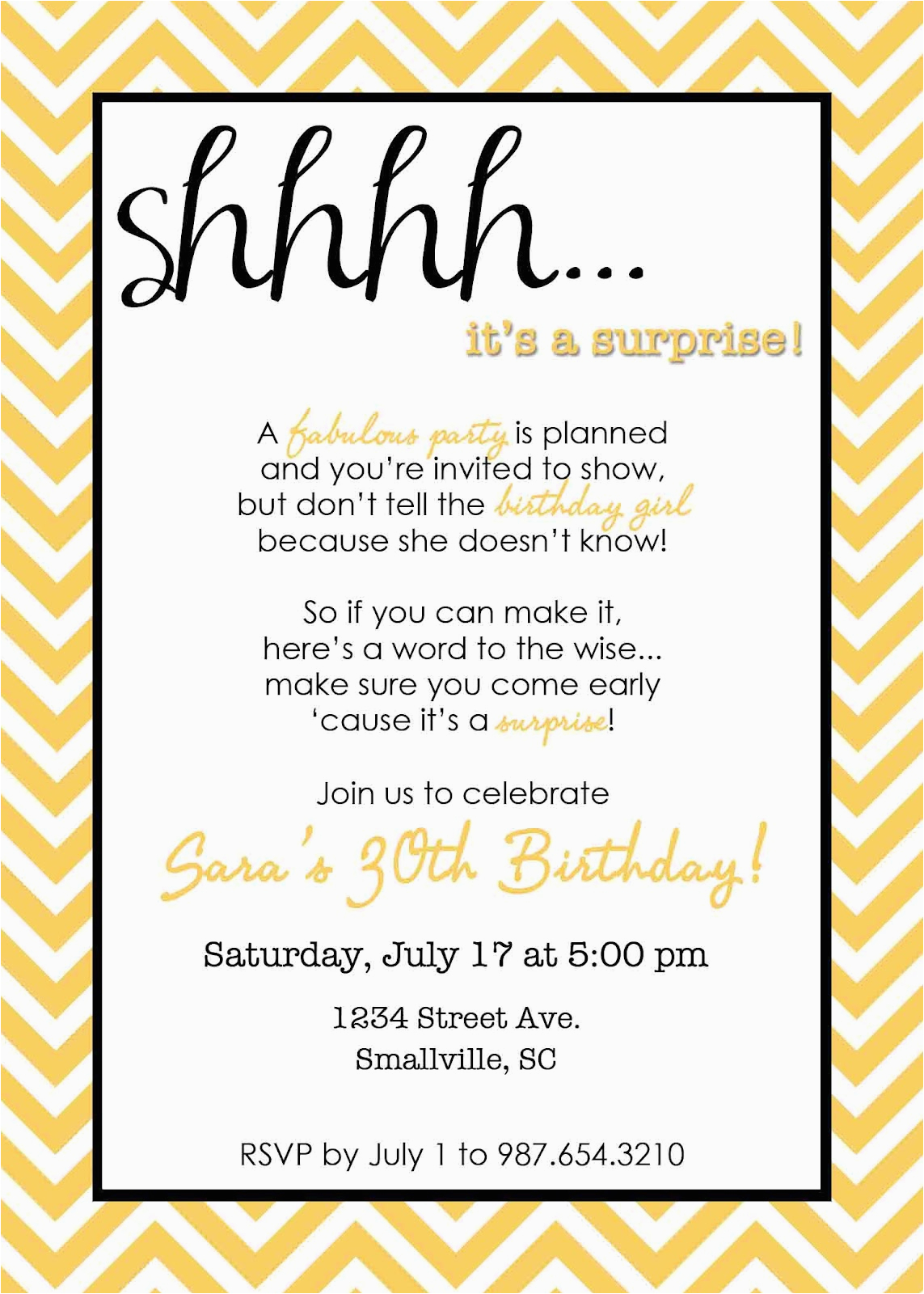 Surprise 80th Birthday Invitation Wording For Party Invitations Free