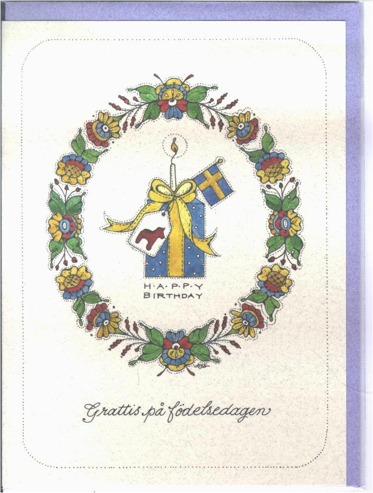 swedish birthday card jj25 3 00 zen cart the art